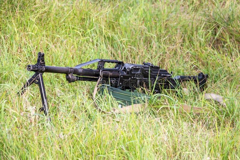 Пулемет Pecheneg стоковое изображение rf