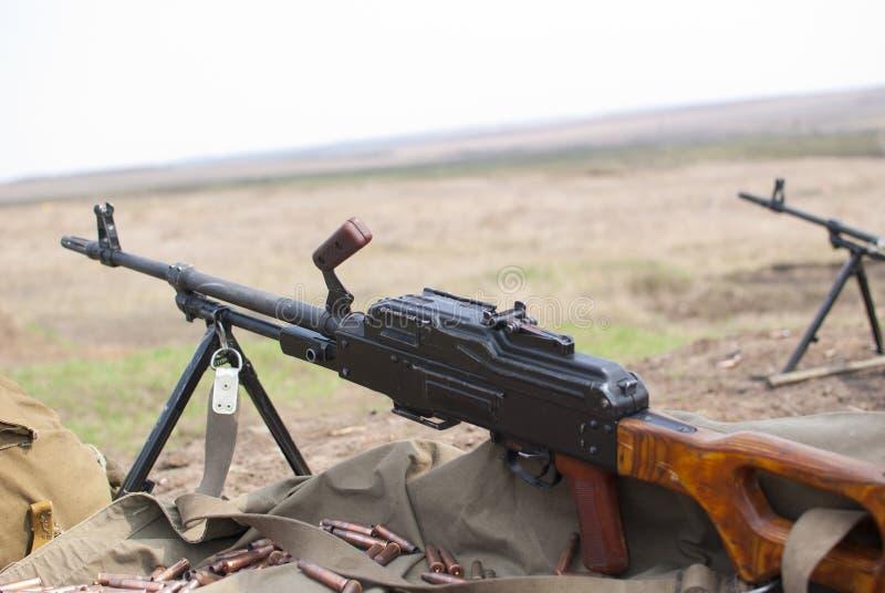 Пулемет PK стоковые изображения rf