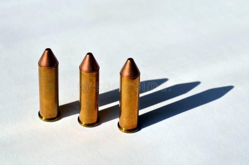 Пули личного огнестрельного оружия стоковая фотография rf