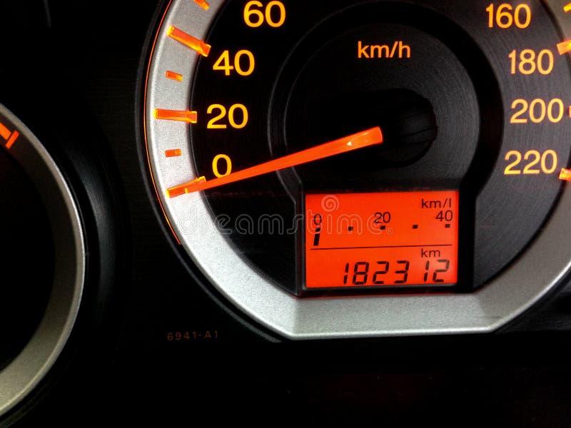 Пульт управления автомобиля стоковое фото rf