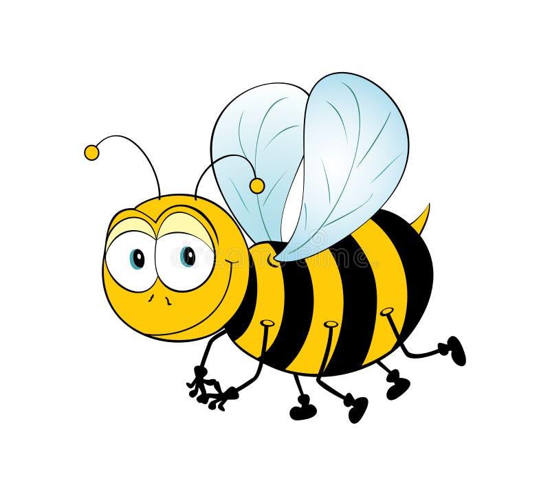 пчела как раз иллюстрация вектора