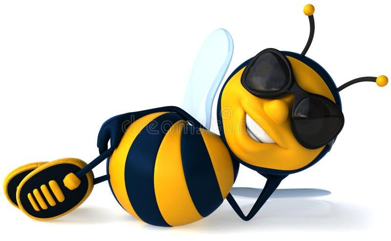 пчела холодная иллюстрация штока