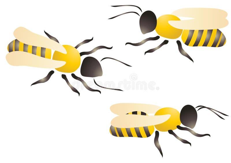 пчелы 3 бесплатная иллюстрация