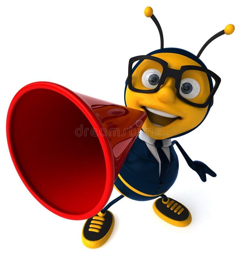 Пчела потехи иллюстрация штока
