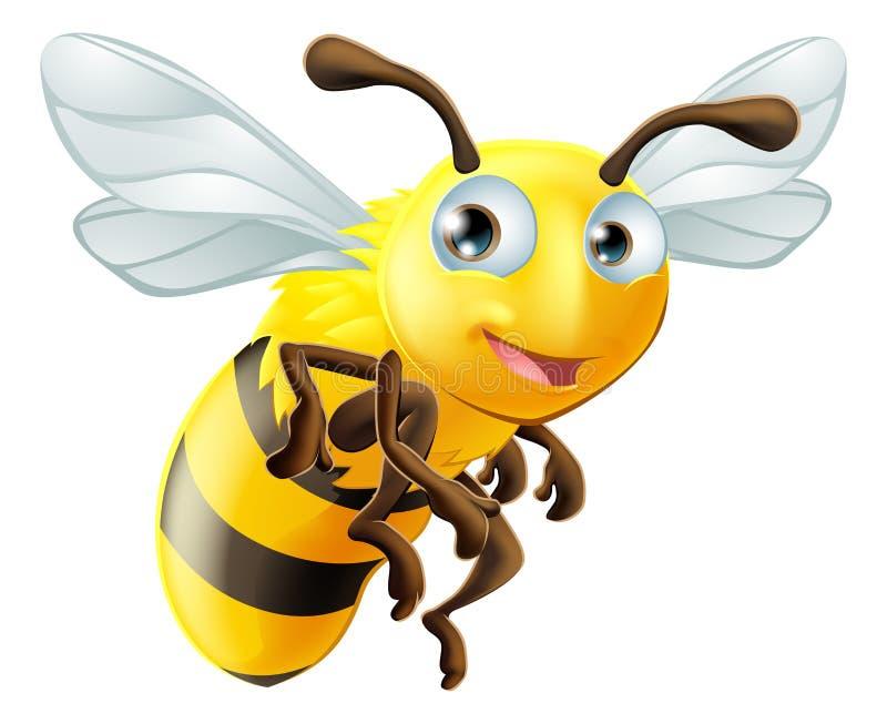Пчела шаржа