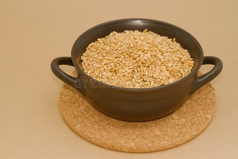 Download Пшеница в шаре глины стоковое изображение. изображение насчитывающей ворох - 40577631