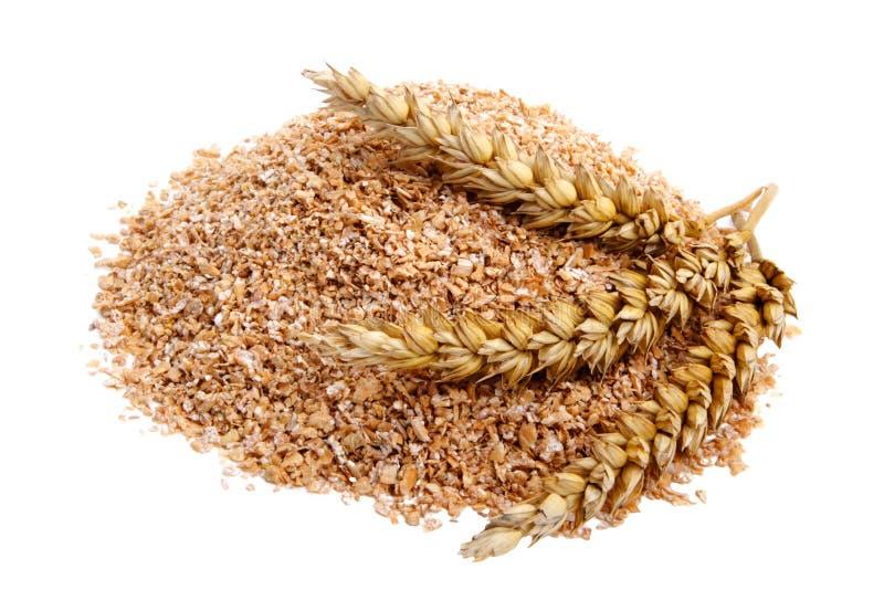 пшеница отрубей стоковая фотография