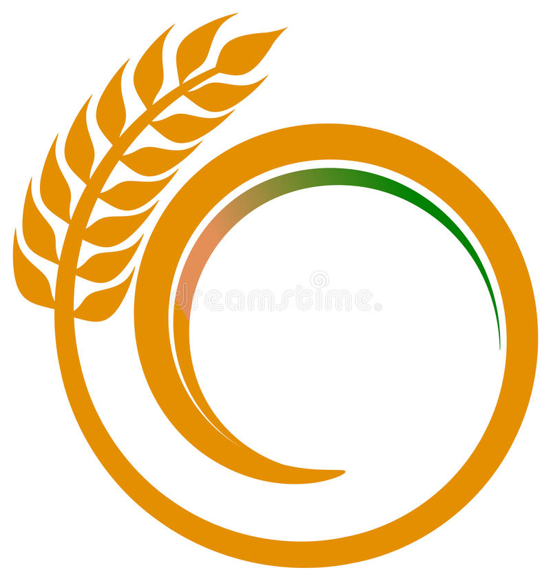 пшеница свирли иллюстрация вектора