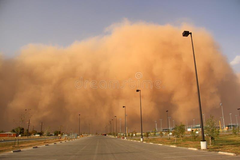 Пыльная буря или haboob стоковые изображения rf