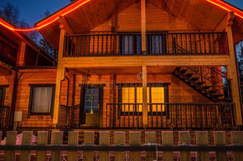 Пышная ноча стоковое изображение