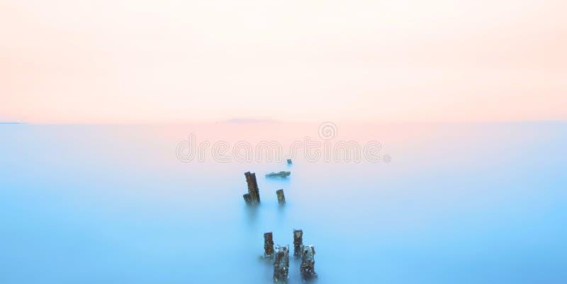 Пышный и шикарный океан стоковое изображение