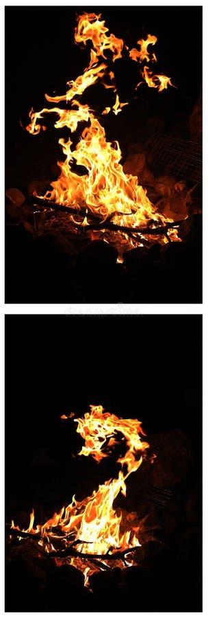 Пылать огня стоковое изображение rf