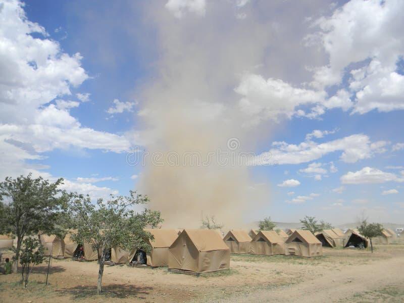 Пыль в ветре стоковые фотографии rf