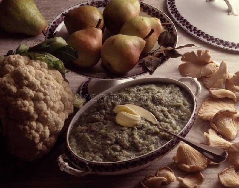 пюре груши cauliflower стоковое изображение rf