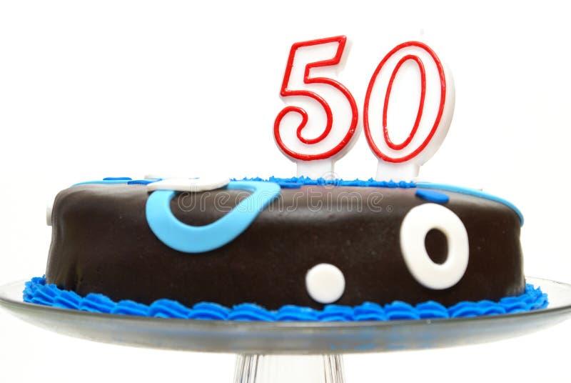 Пятидесятое торжество дня рождения стоковая фотография