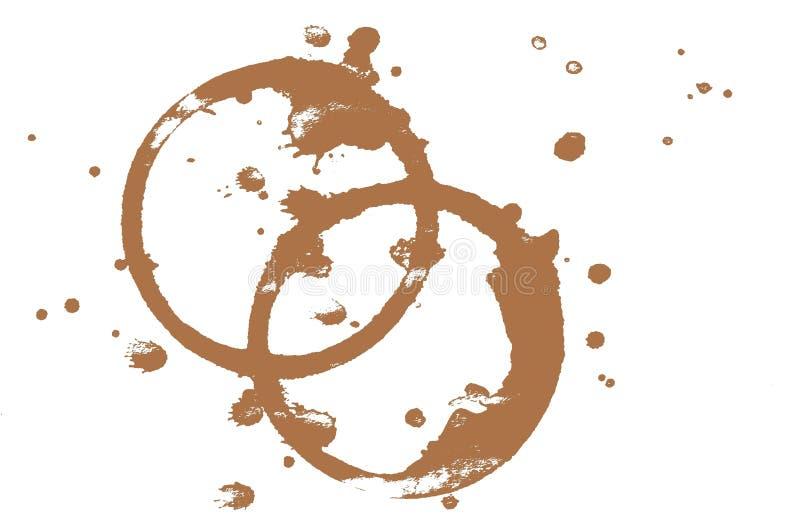 пятна кофе стоковые изображения
