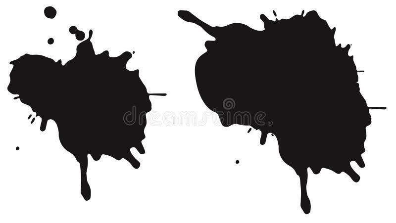 Пятна чернил стоковые изображения