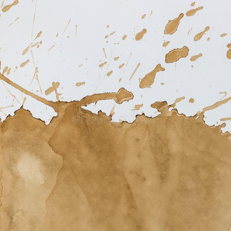 Пятно кофе стоковое изображение