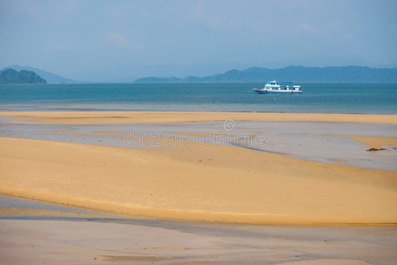 Плавание парома на Andaman Seag стоковое изображение rf