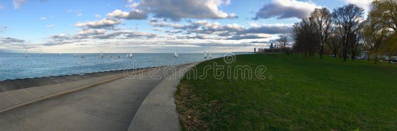 Плавание Чикаго стоковое изображение rf