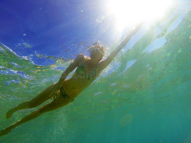 Плавание стоковое фото