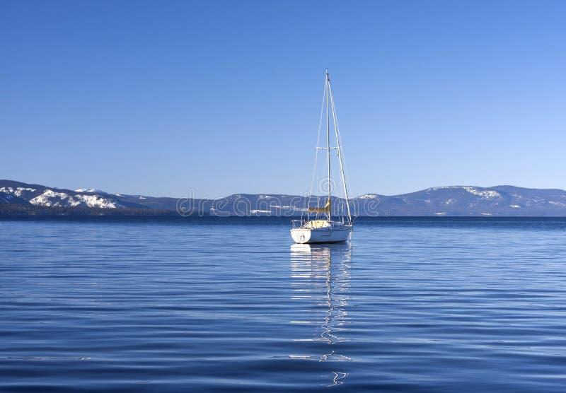 Плавание Tahoe стоковые изображения rf