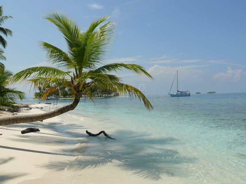 Плавать острова Сан Blas стоковые фото