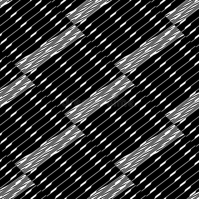 Download Плавно Repeatable геометрическая картина - абстрактный Monochrome ба Иллюстрация вектора - иллюстрации насчитывающей конспектов, повторяющийся: 81802433