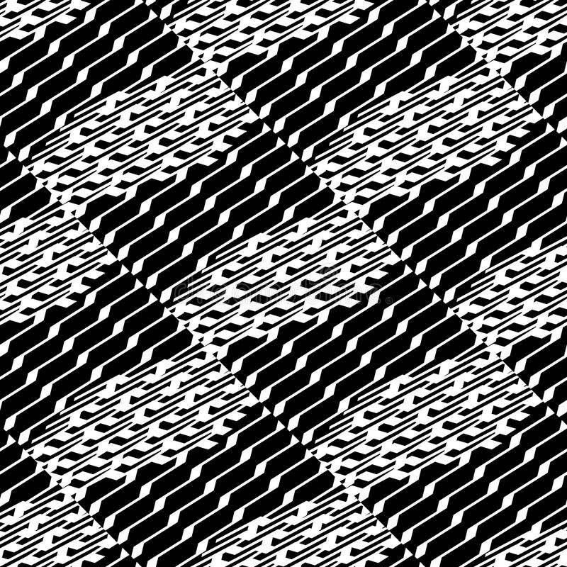 Download Плавно Repeatable геометрическая картина - абстрактный Monochrome ба Иллюстрация вектора - иллюстрации насчитывающей геометрия, repeatable: 81802542