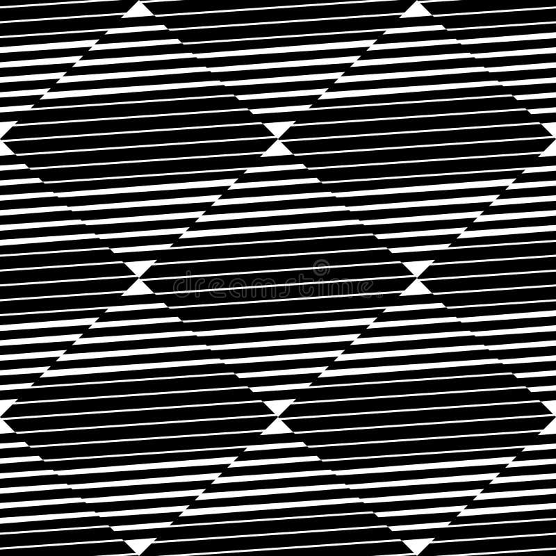 Download Плавно Repeatable геометрическая картина - абстрактный Monochrome ба Иллюстрация вектора - иллюстрации насчитывающей повторять, картина: 81802604