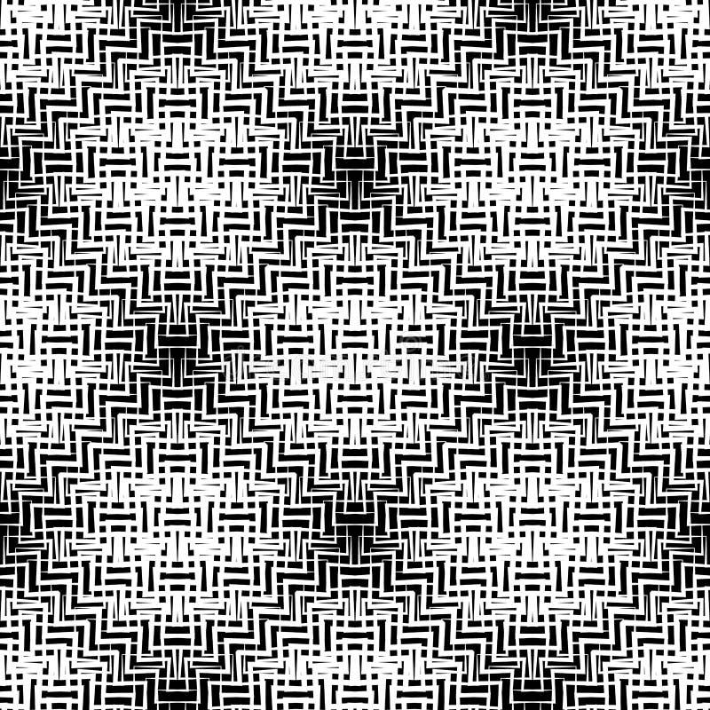 Download Плавно Repeatable геометрическая картина - абстрактный Monochrome ба Иллюстрация вектора - иллюстрации насчитывающей элементы, иллюзорно: 81802964