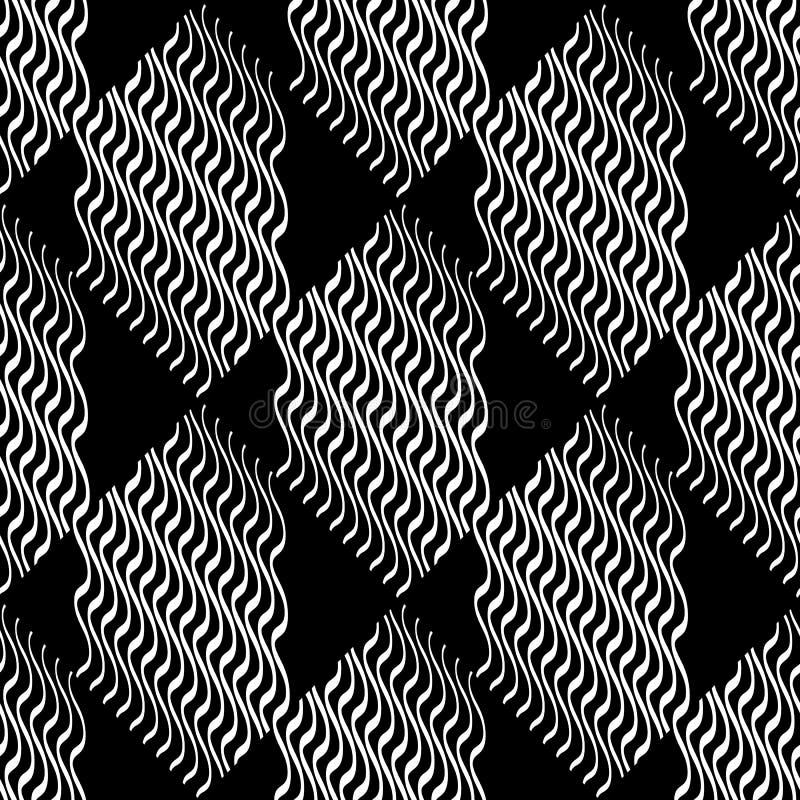Download Плавно Repeatable геометрическая картина - абстрактный Monochrome ба Иллюстрация вектора - иллюстрации насчитывающей конструкция, бесконечно: 81803892