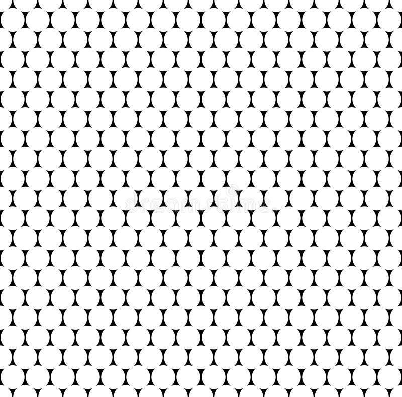 Download Плавно Repeatable картина с точками, кругами Monochrome Abs Иллюстрация вектора - иллюстрации насчитывающей плавно, разносторонне: 81809953