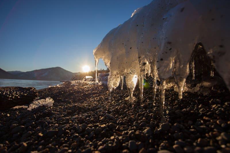 Плавя лед стоковые фото