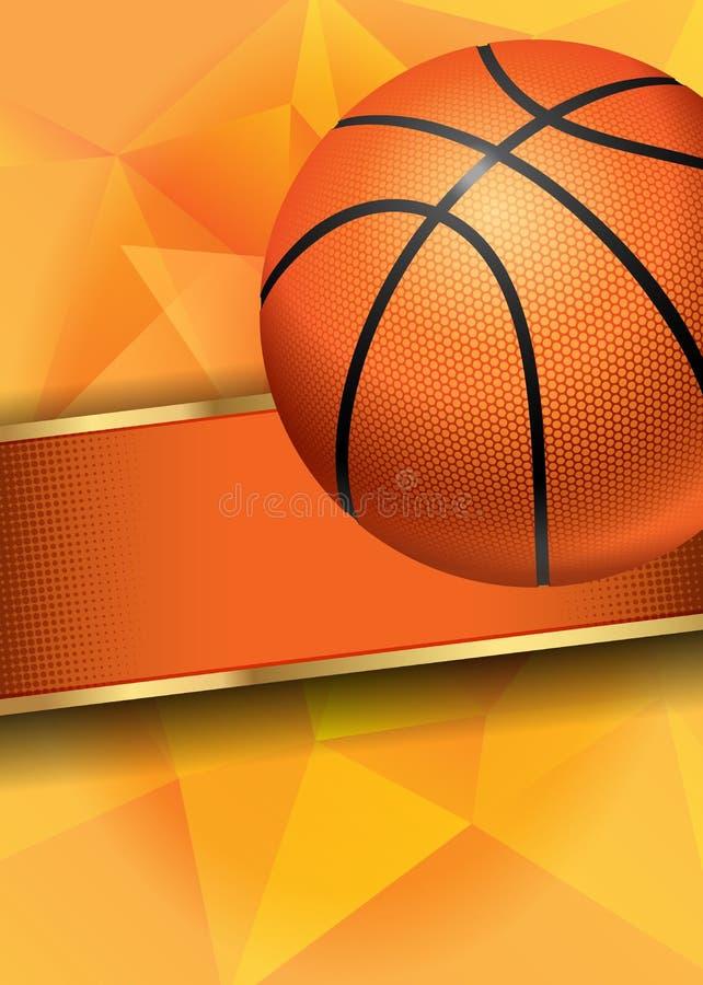 Плакат баскетбола бесплатная иллюстрация