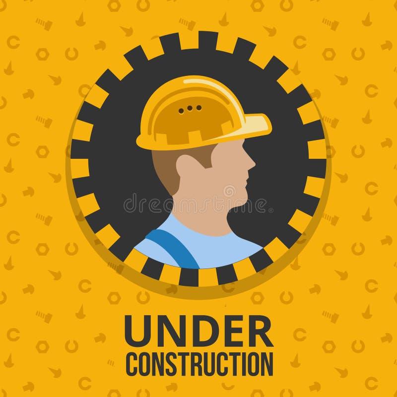 плакат конструкции вниз бесплатная иллюстрация