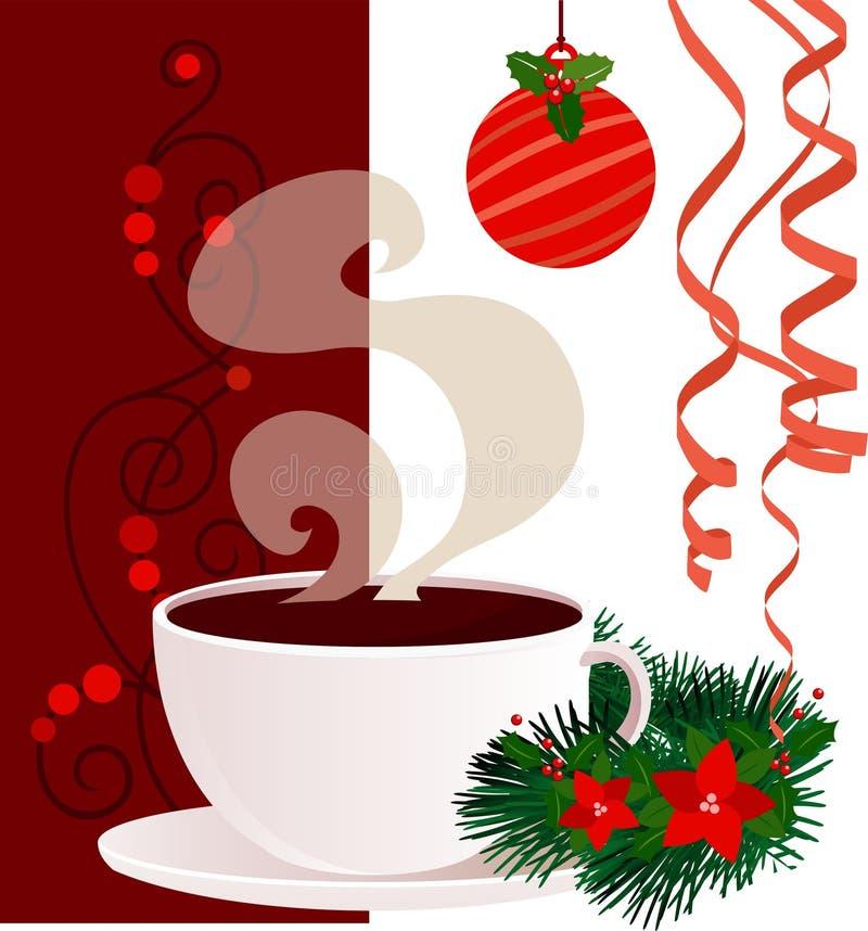 Плакат рождества и Нового Года иллюстрация штока