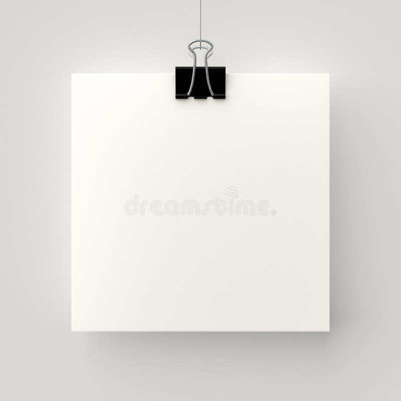 Плакат смертной казни через повешение иллюстрация вектора