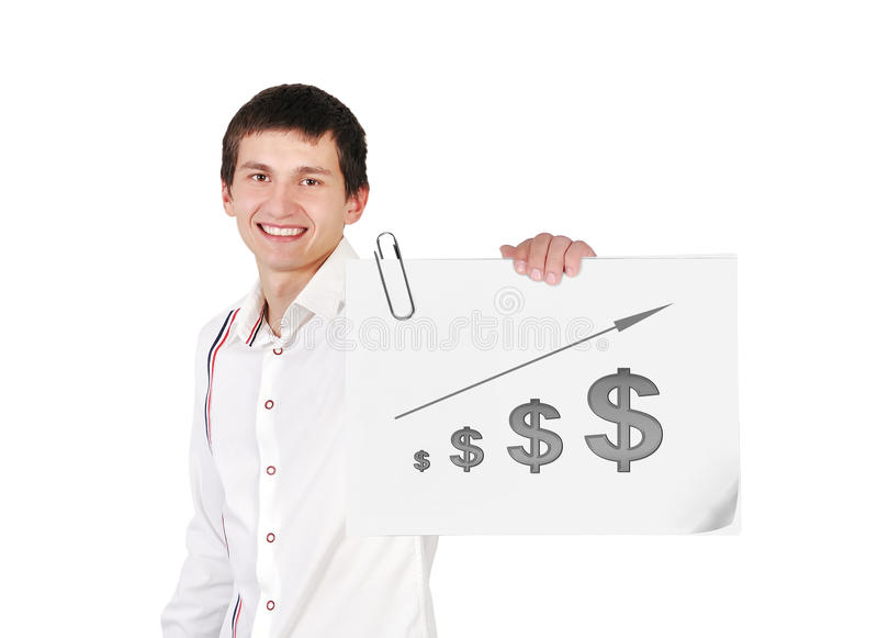 Плакат с диаграммой бесплатная иллюстрация