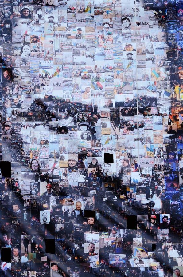 Плакат с портретом известного украинского поэта Taras Shevchenko, Киева, Украины стоковые изображения