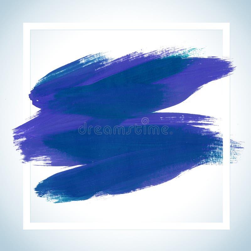 Плакат хода мотивировки мечт квадратный акриловый Литерность текста вдохновляющего высказывания Шаблон плаката цитаты типографски иллюстрация вектора