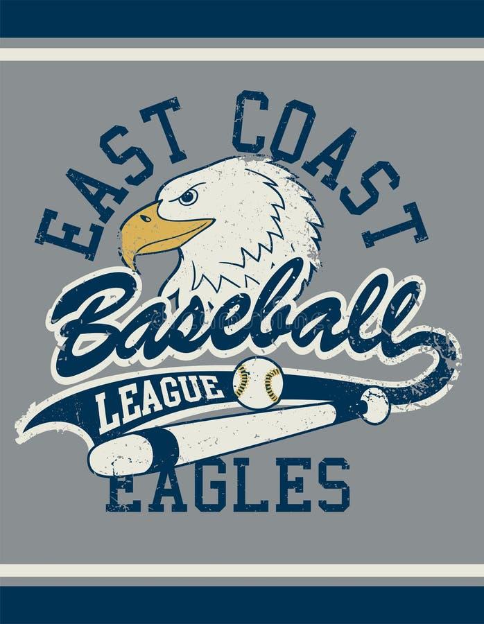 Плакат jersey футбольной лиги западного побережья иллюстрация штока