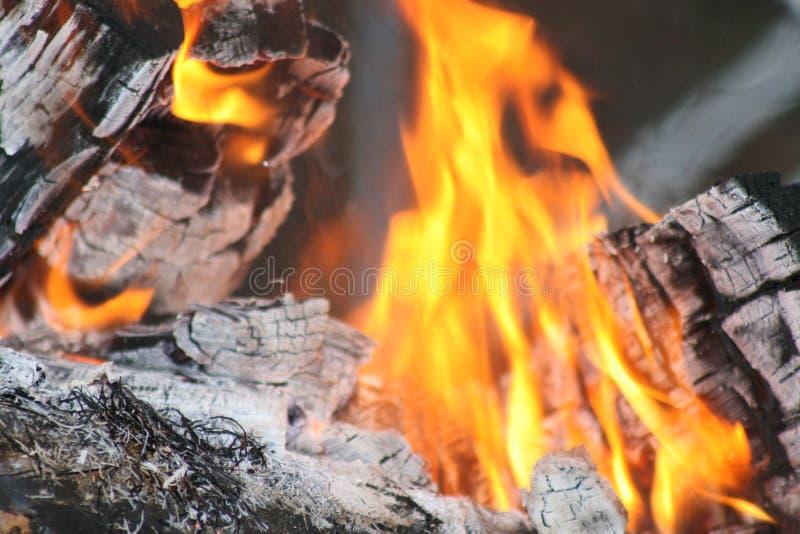 Пламена танцев стоковые изображения rf
