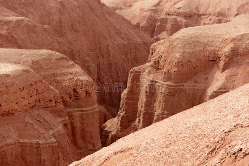 Пламенеющий каньон горы стоковая фотография