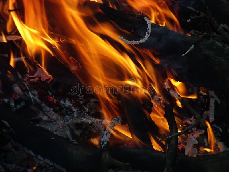Пламя стоковая фотография
