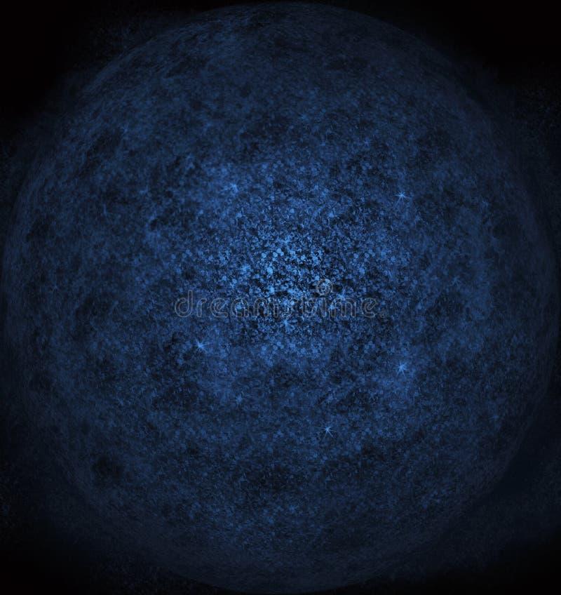 Планетарная пыль в космосе иллюстрация штока