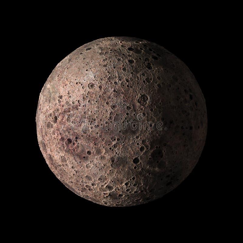 Планета солнечной системы чужеземца на черном переводе предпосылки 3d Элементы этого изображения поставленные NASA бесплатная иллюстрация