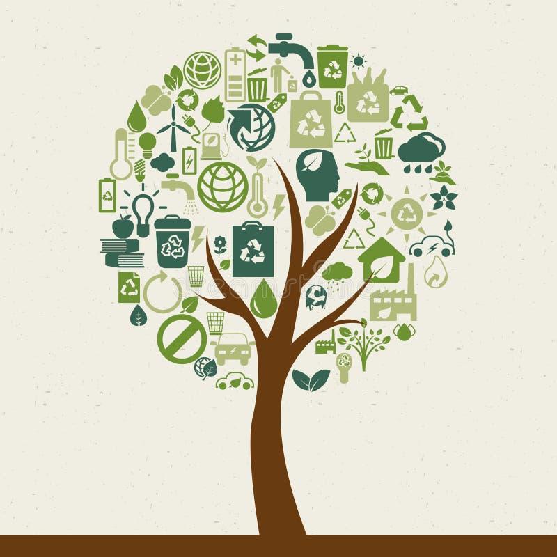 Download Планета Eco иллюстрация вектора. иллюстрации насчитывающей греть - 41661506