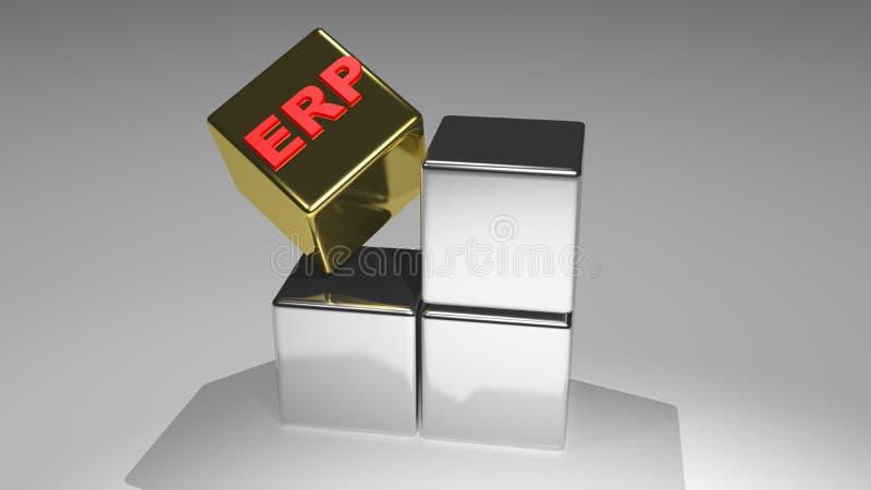 Планирование ресурса предприятия - ERP бесплатная иллюстрация
