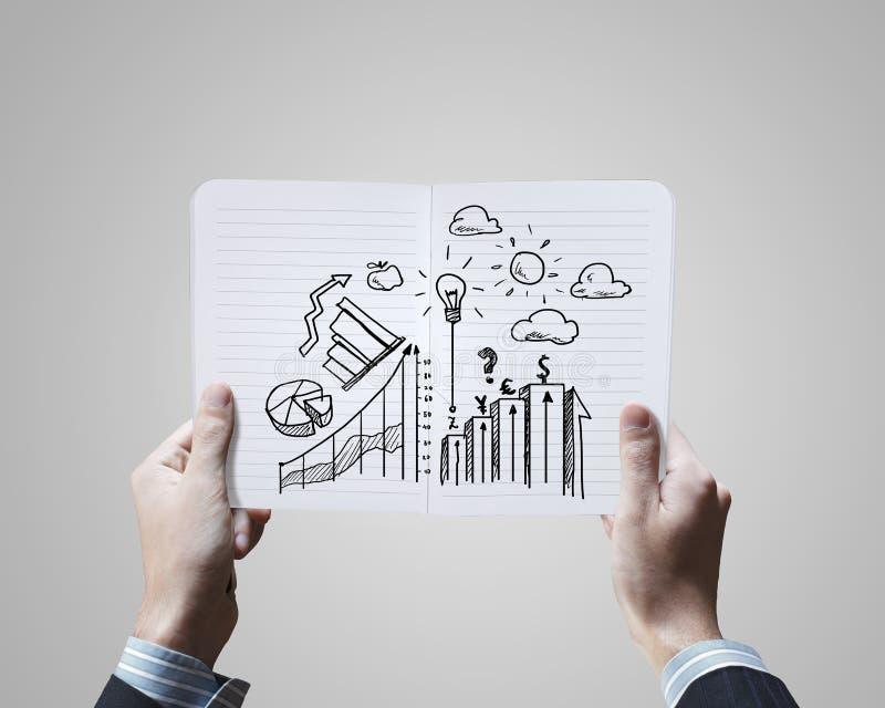 Download Планированиe бизнеса стоковое изображение. изображение насчитывающей документ - 41650331